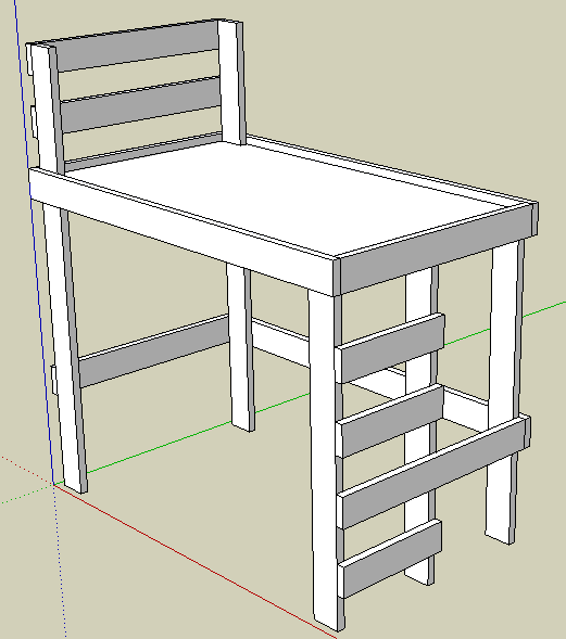 plans to build a bedroom loft